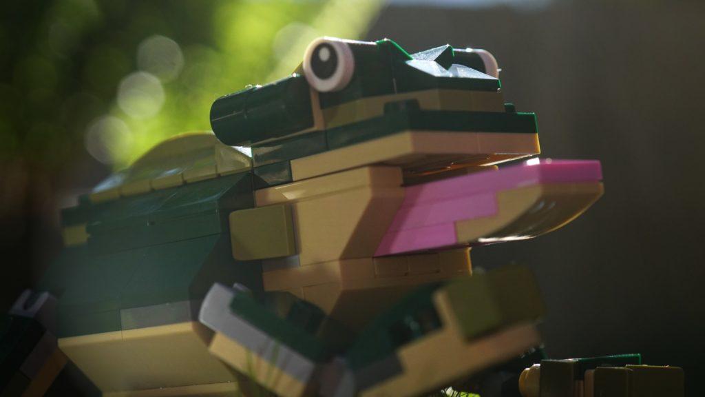 LEGO 31121 Crocodile Frog Model
