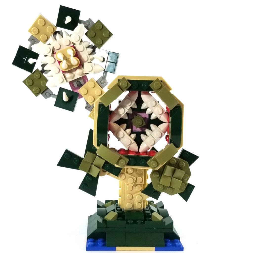 LEGO 31121 Crocodile Horror Plant Alternative MOC
