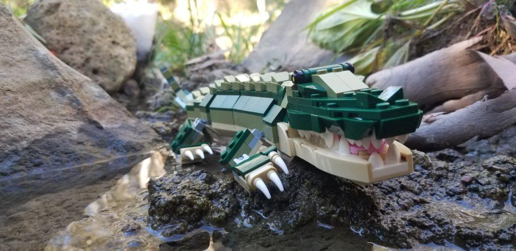 LEGO 31121 Crocodile Side Vew