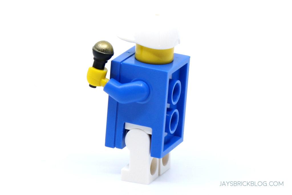 LEGO 40486 Mini Adidas Superstar Adidas Shoebox Minifigure Side Back