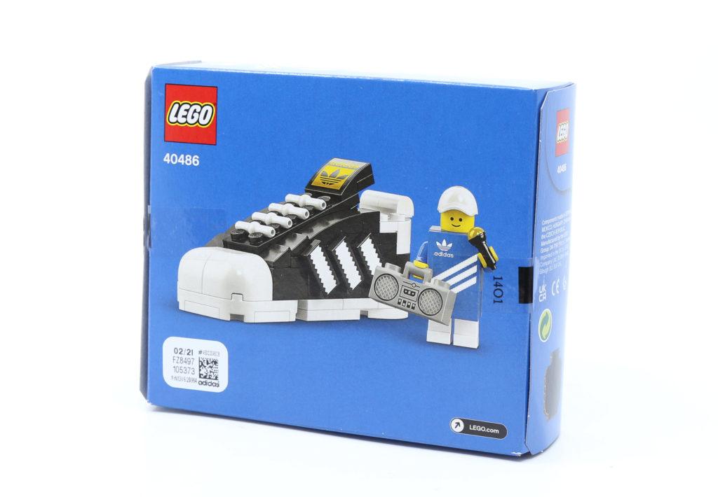 LEGO 40486 Mini Adidas Superstar Box Back