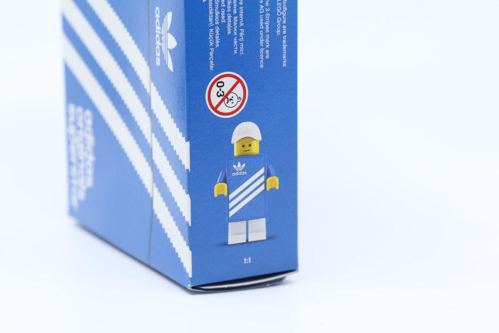 LEGO 40486 Mini Adidas Superstar Box Side