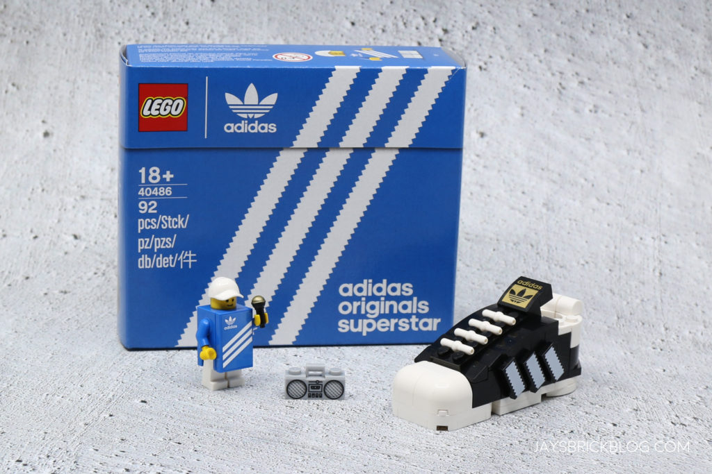 LEGO 40486 Mini Adidas Superstar Gift with Purchase