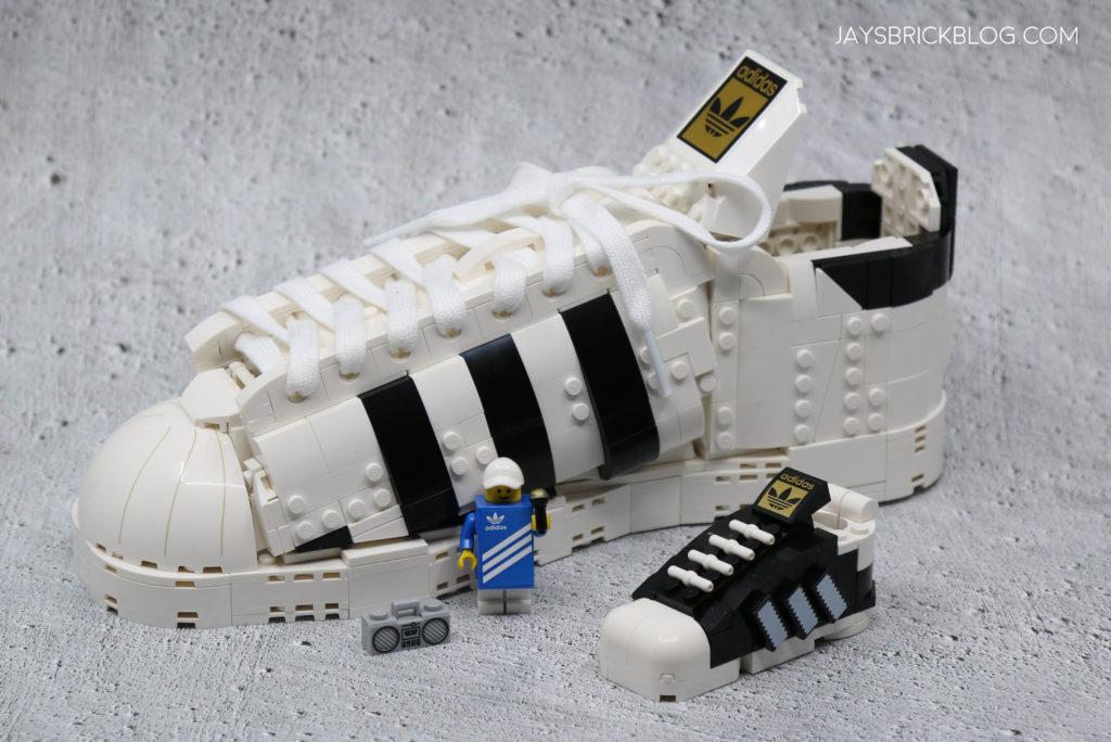 LEGO 40486 Mini Adidas Superstar LEGO Adidas Superstar Comparison