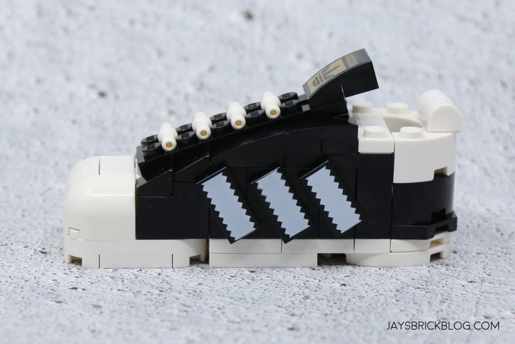 LEGO 40486 Mini Adidas Superstar Shoe Side