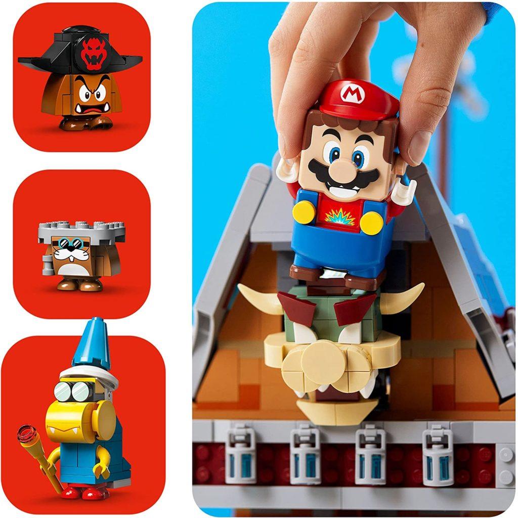 LEGO 71391 Bowsers Airship Mario Bowser