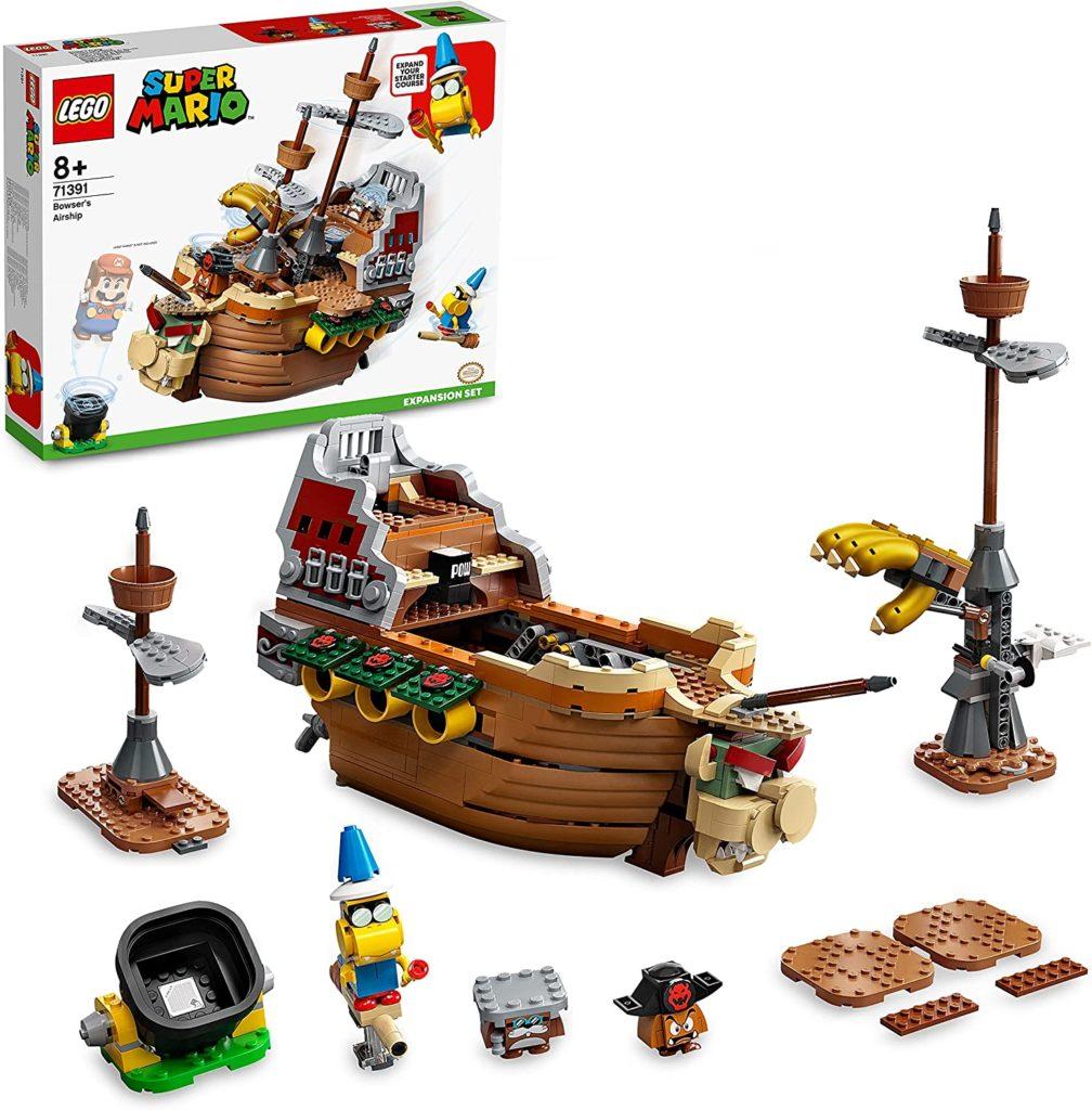 LEGO 71391 Bowsers Airship Set Photo