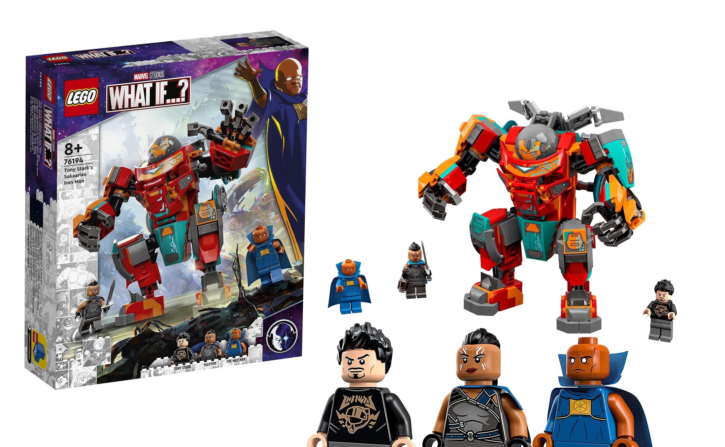 LEGO Marvel What If...? set revealed! 76194 Tony Stark's Sakaarian Iron Man - Jay's Brick Blog