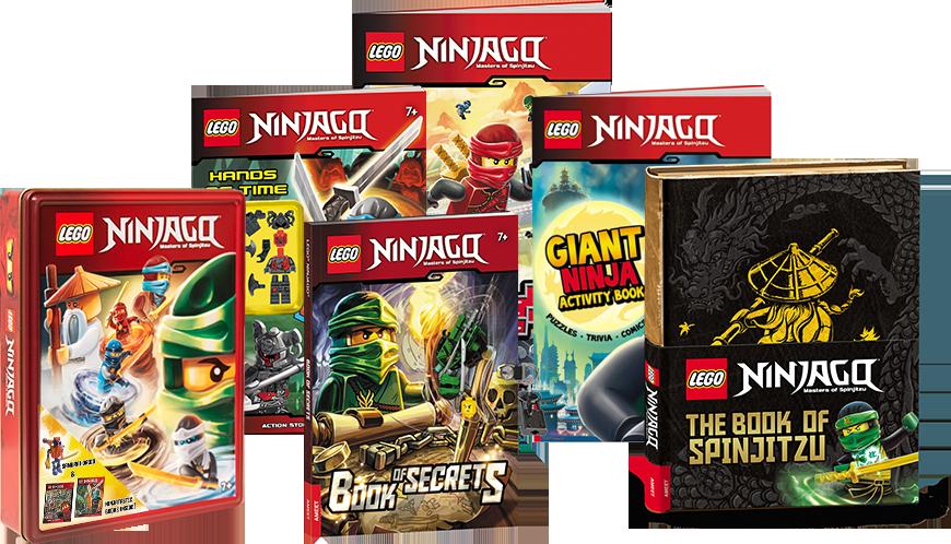 LEGO Ninjago Comic Books
