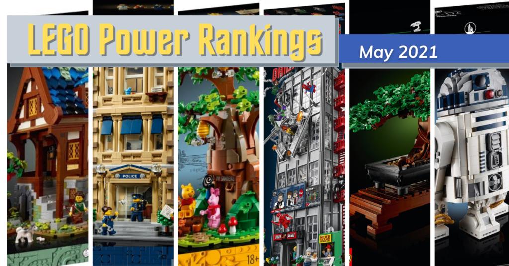 LEGO Power Rankings May 2021