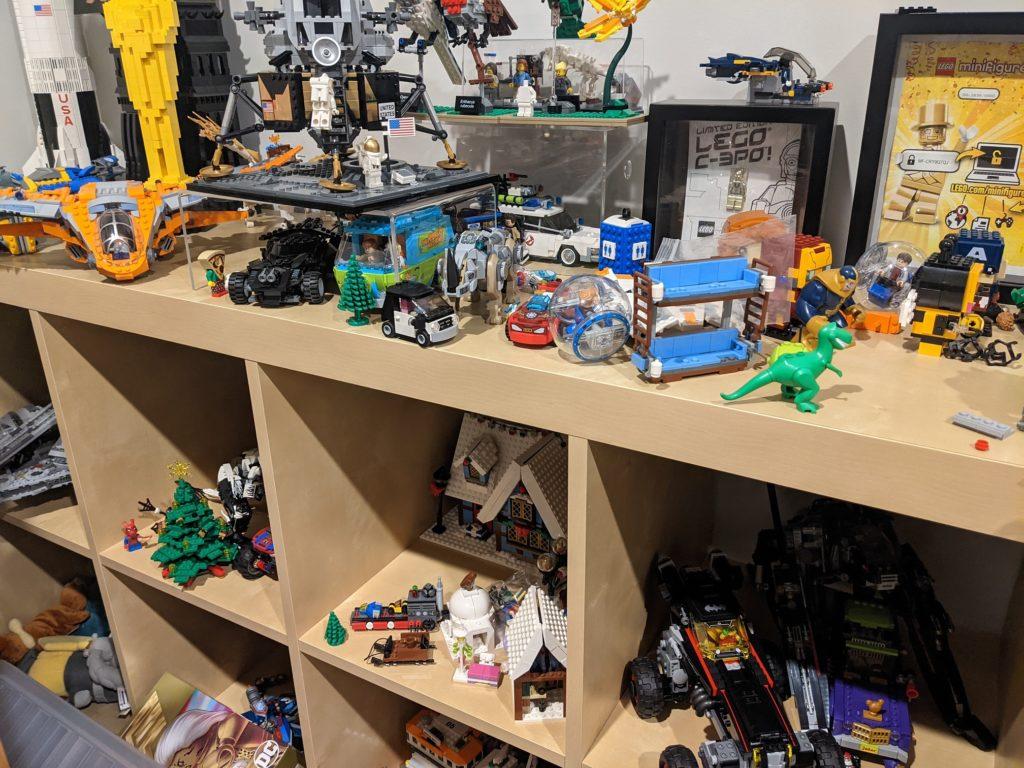 LEGO Shelf June 2021
