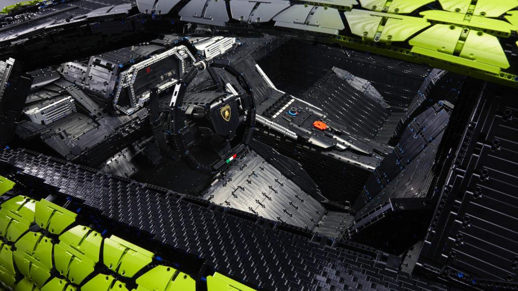 Life size LEGO Technic Lamborghini Sian FKP 37 15