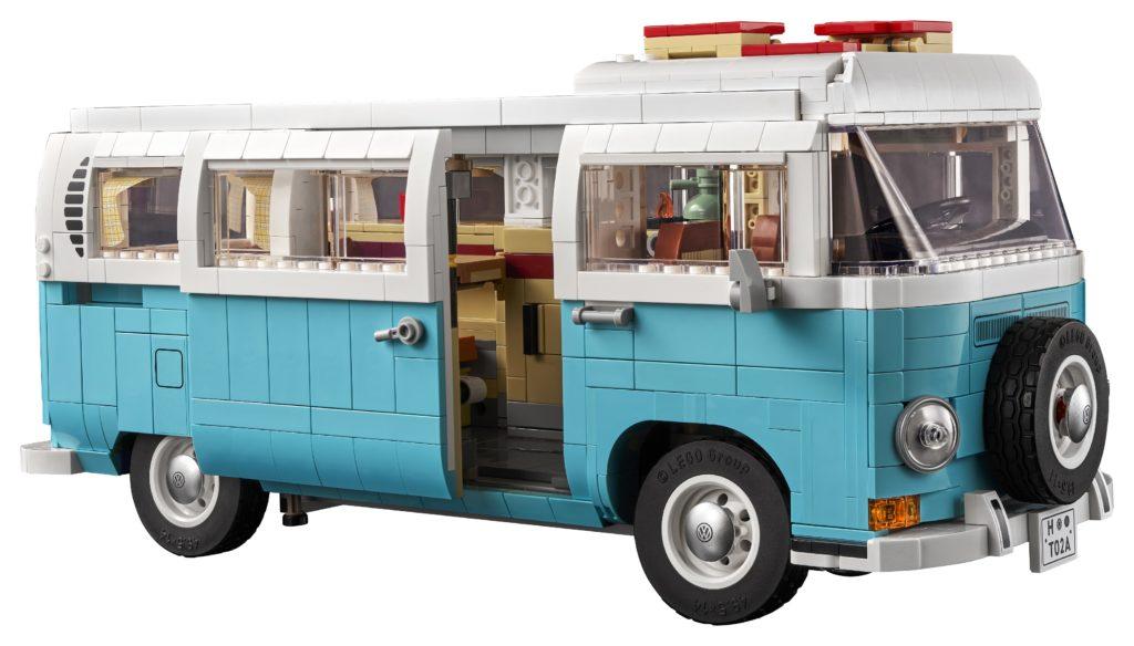 10279 Volkswagen T2 Campervan Open Door