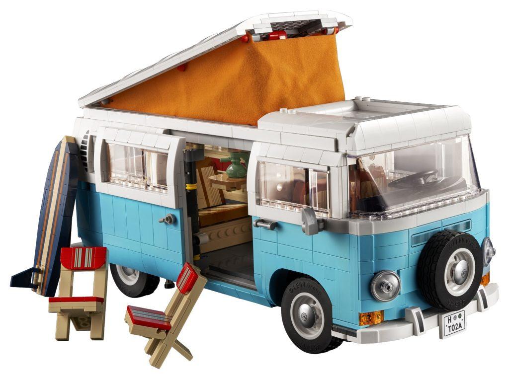 10279 Volkswagen T2 Campervan Props