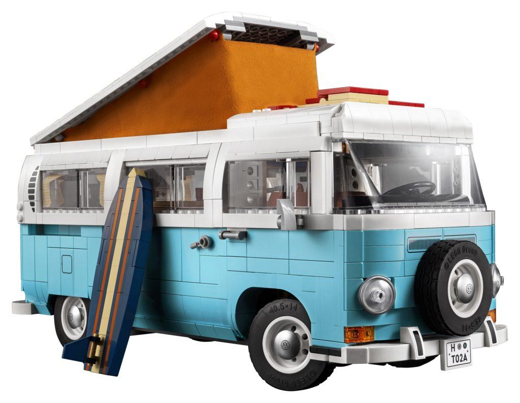 10279 Volkswagen T2 Campervan Set Photo