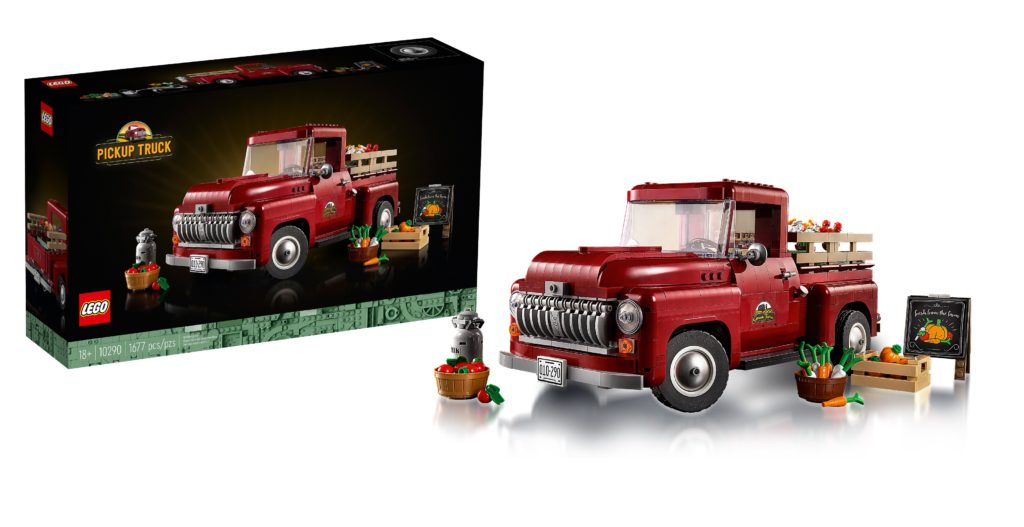 LEGO 10290 Pickup Truck Feature Photo