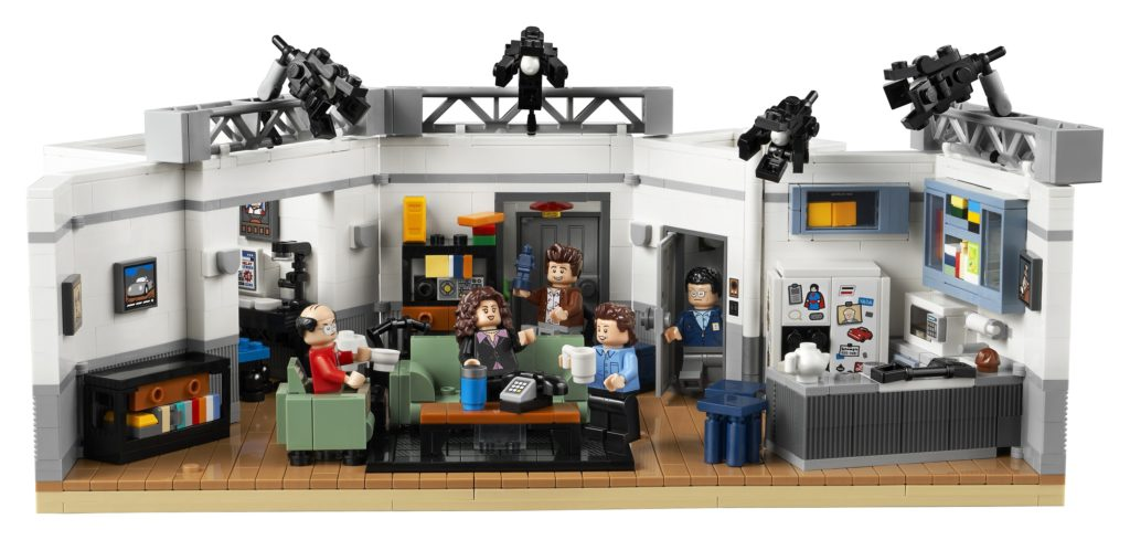 LEGO 21328 Seinfeld Front View