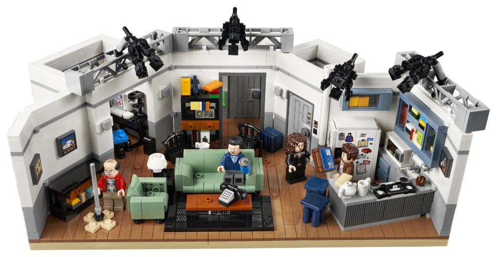 LEGO 21328 Seinfeld Top View