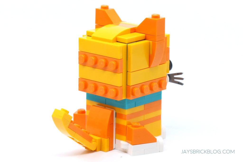 LEGO 40480 Brickheadz Tabby Cats Adult Cat Tail