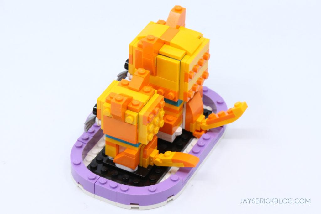 LEGO 40480 Brickheadz Tabby Cats Back