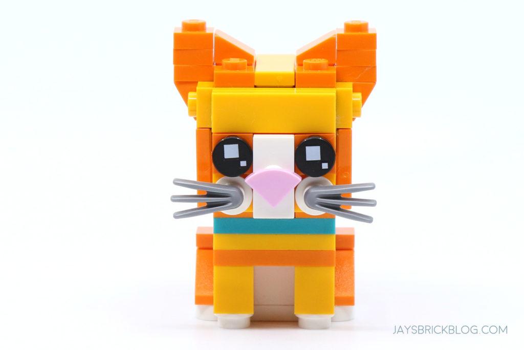 LEGO 40480 Brickheadz Tabby Cats Kitten