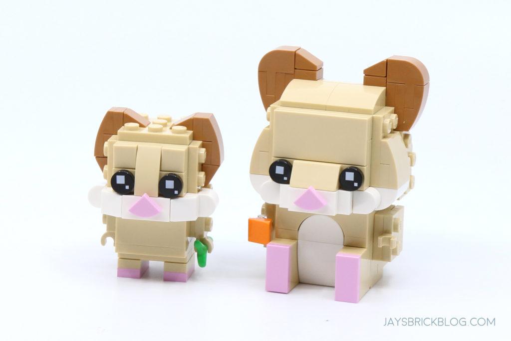 LEGO 40482 Brickheadz Hamsters