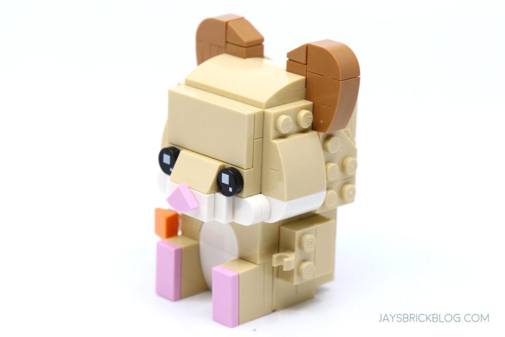 LEGO 40482 Brickheadz Hamsters Adult Side