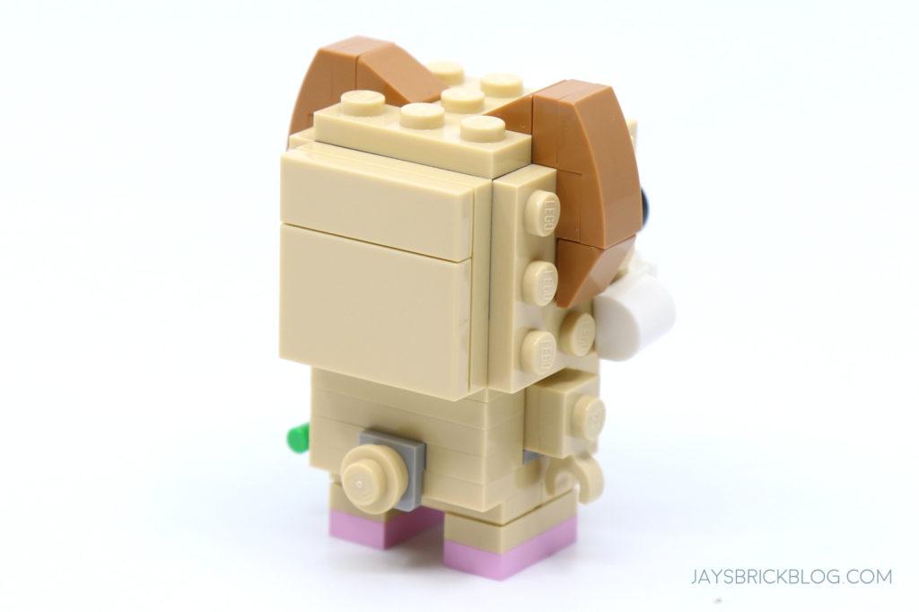LEGO 40482 Brickheadz Hamsters Baby Hamster Back
