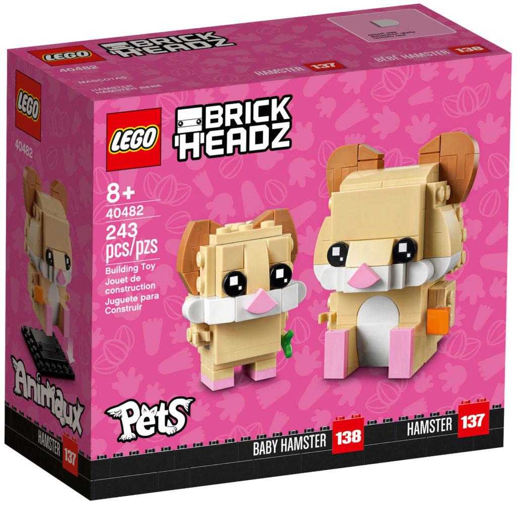 LEGO 40482 Brickheadz Hamsters Box