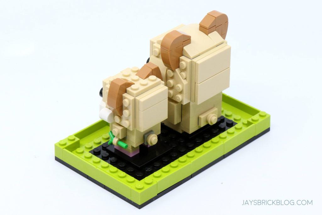 LEGO 40482 Brickheadz Hamsters Set Back