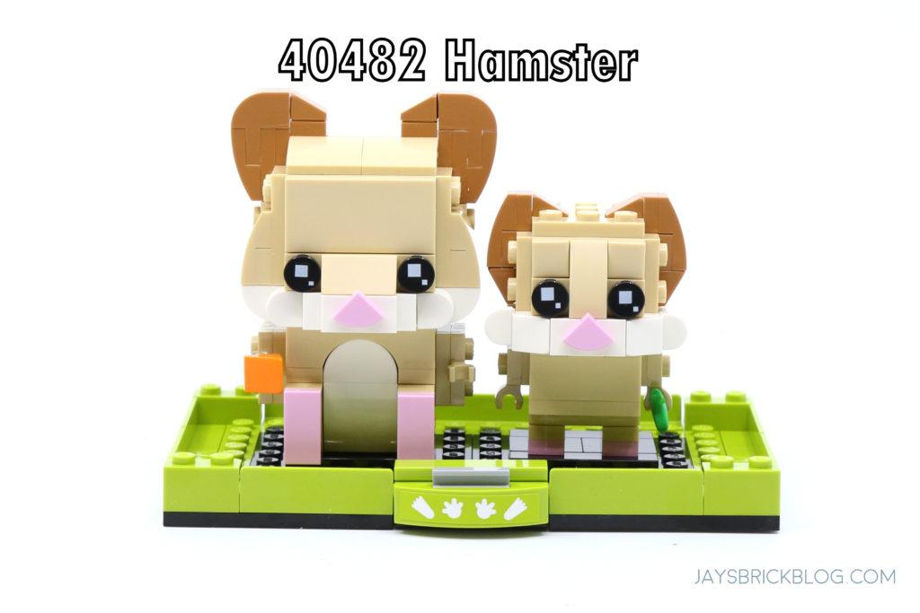 LEGO 40482 Brickheadz Hamsters Set Photo