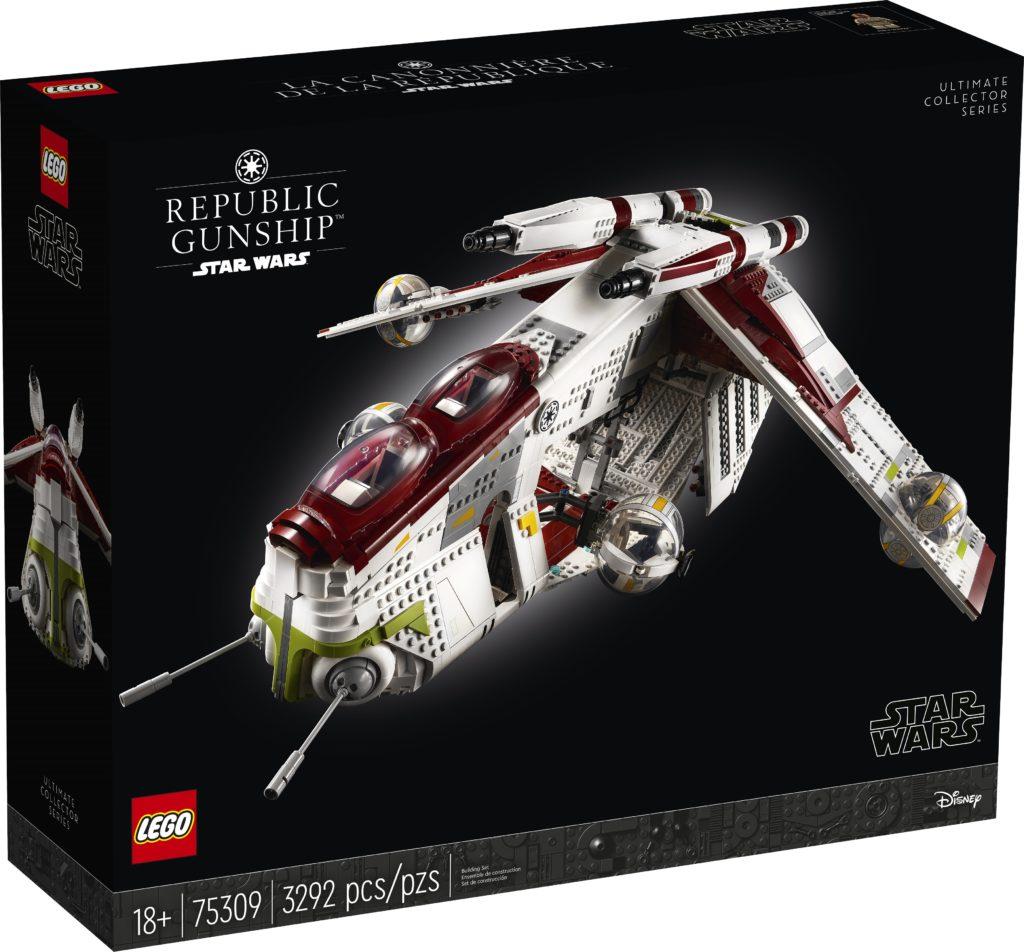 LEGO 75309 UCS Republic Gunship Box