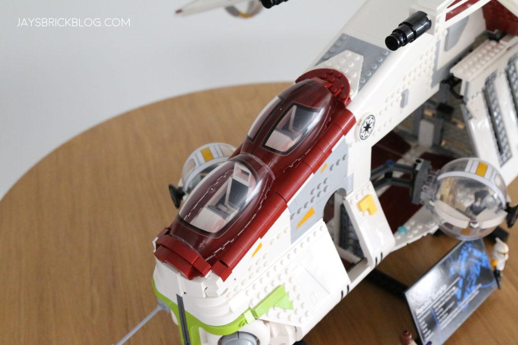 LEGO 75309 UCS Republic Gunship Canopy