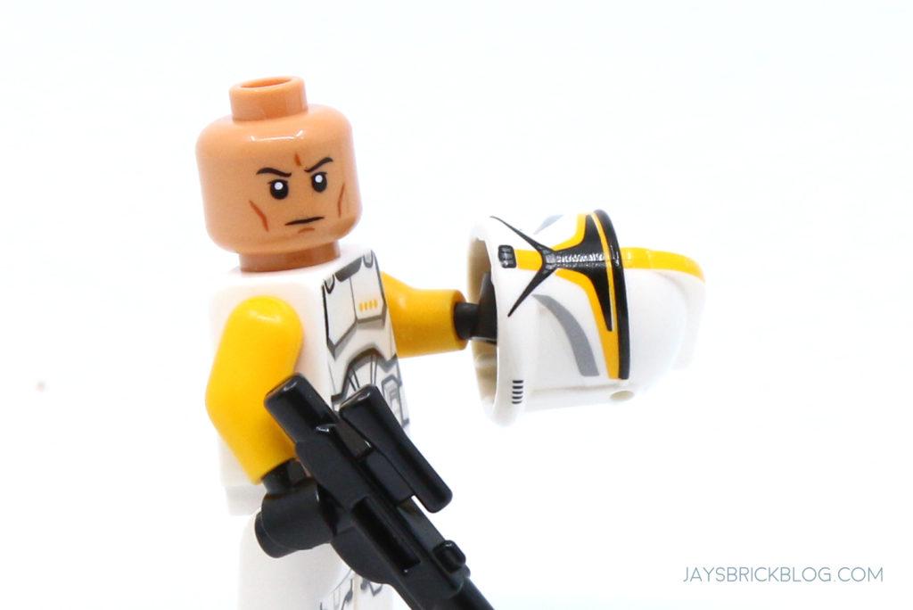 LEGO 75309 UCS Republic Gunship Clone Commander Ponds Minifigure