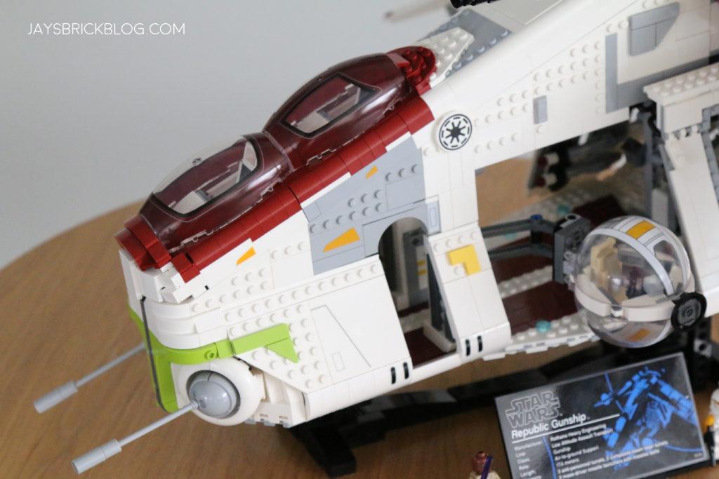 LEGO 75309 UCS Republic Gunship Doors