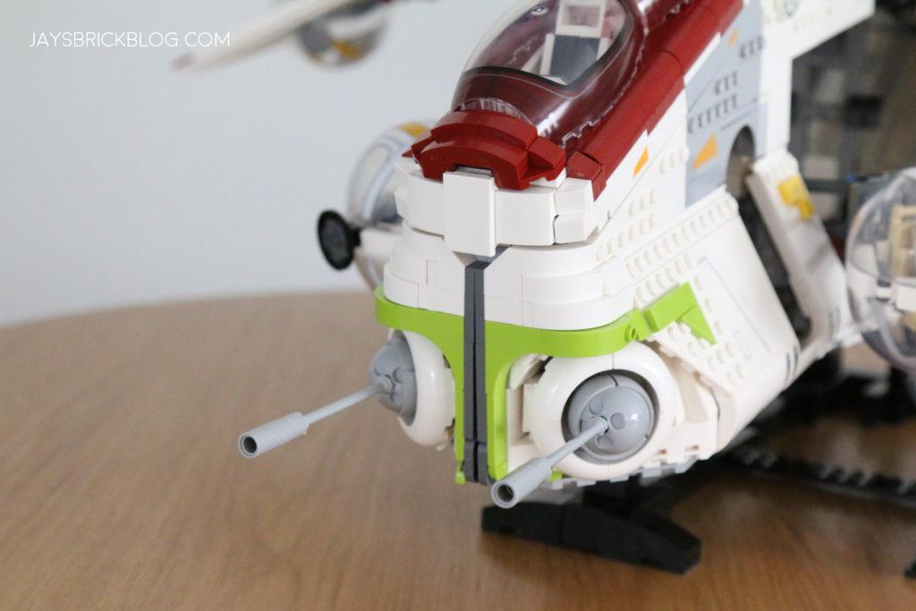 LEGO 75309 UCS Republic Gunship Laser Cannons