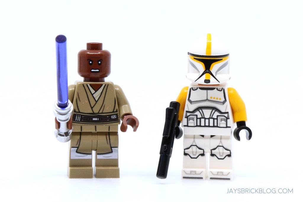 LEGO 75309 UCS Republic Gunship Mace Windu and Clone Commander Ponds Minifigures