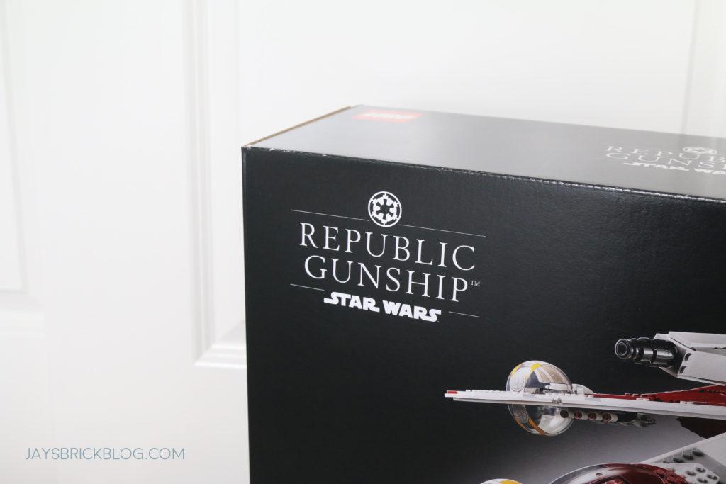 LEGO 75309 UCS Republic Gunship Misprint Box Imperial Logo