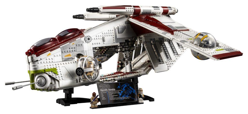 LEGO 75309 UCS Republic Gunship Side