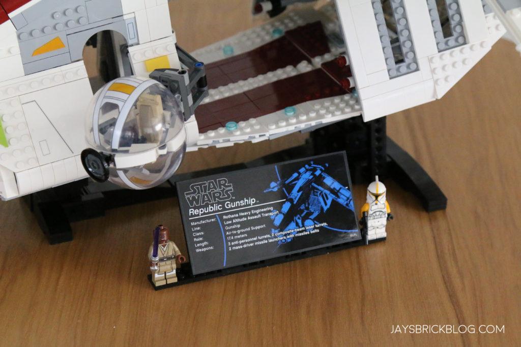 LEGO 75309 UCS Republic Gunship UCS Plaque