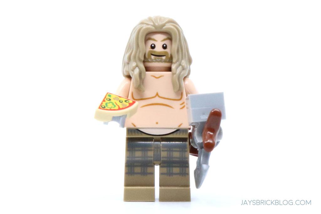 LEGO 76200 Bro Thors New Asgard Bro Thor minifigure