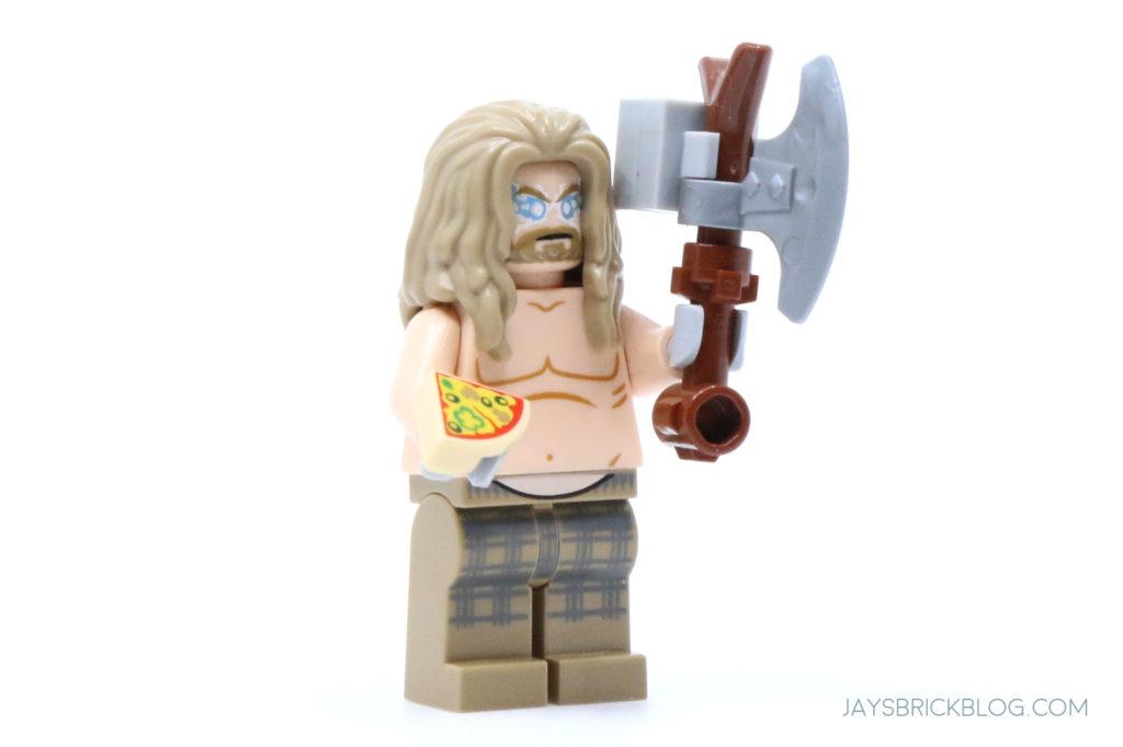 LEGO 76200 Bro Thors New Asgard Bro Thor minifigure lightning eyes