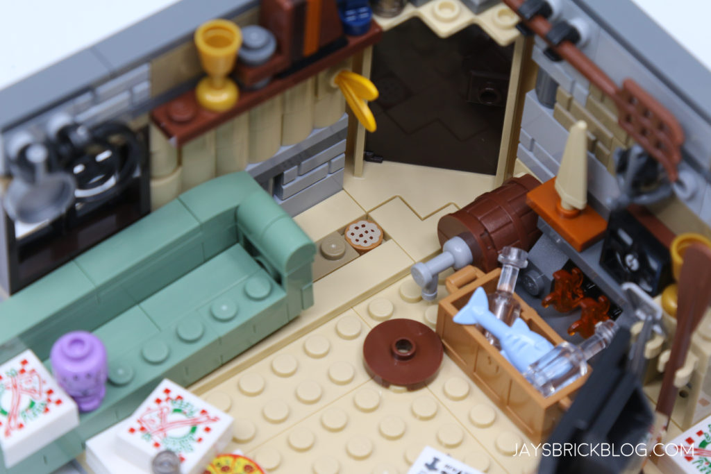 LEGO 76200 Bro Thors New Asgard Cookie under couch