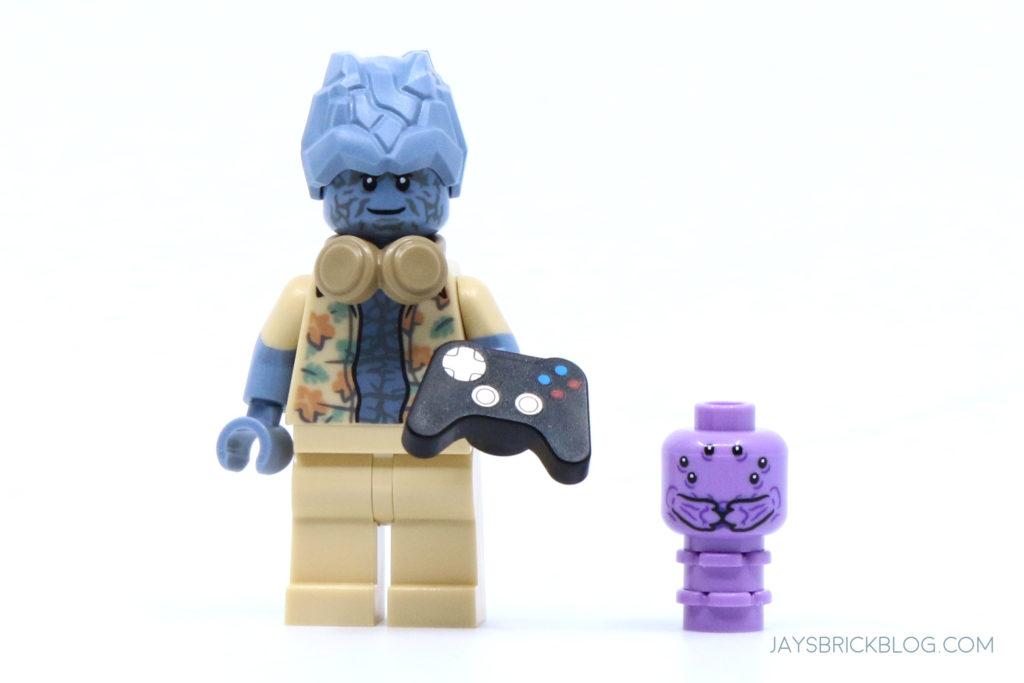 LEGO 76200 Bro Thors New Asgard Korg and Miek minifigures