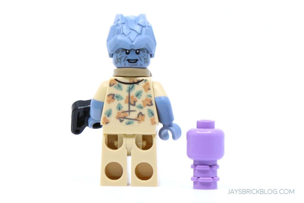 LEGO 76200 Bro Thors New Asgard Korg and Miek minifigures back
