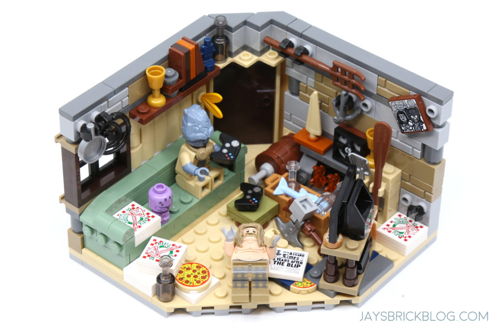 LEGO 76200 Bro Thors New Asgard Living Room