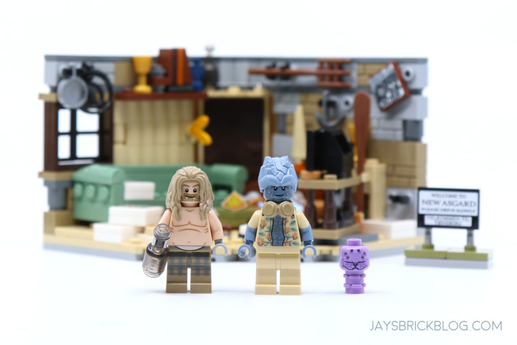 LEGO 76200 Bro Thors New Asgard Minifigures
