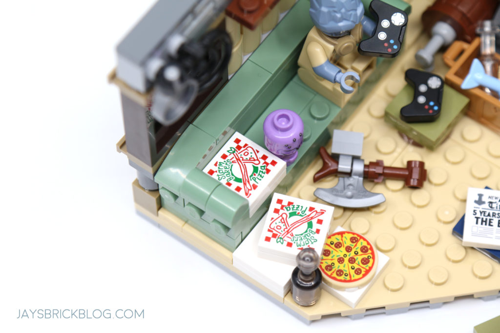 LEGO 76200 Bro Thors New Asgard Stormbakers pizza