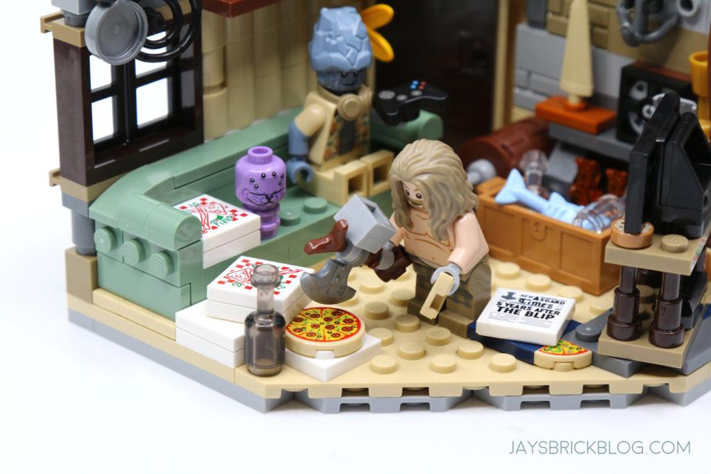 LEGO 76200 Bro Thors New Asgard Stormbreaker Pizza