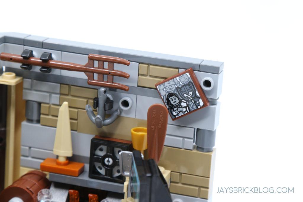 LEGO 76200 Bro Thors New Asgard Valkyrie Frame